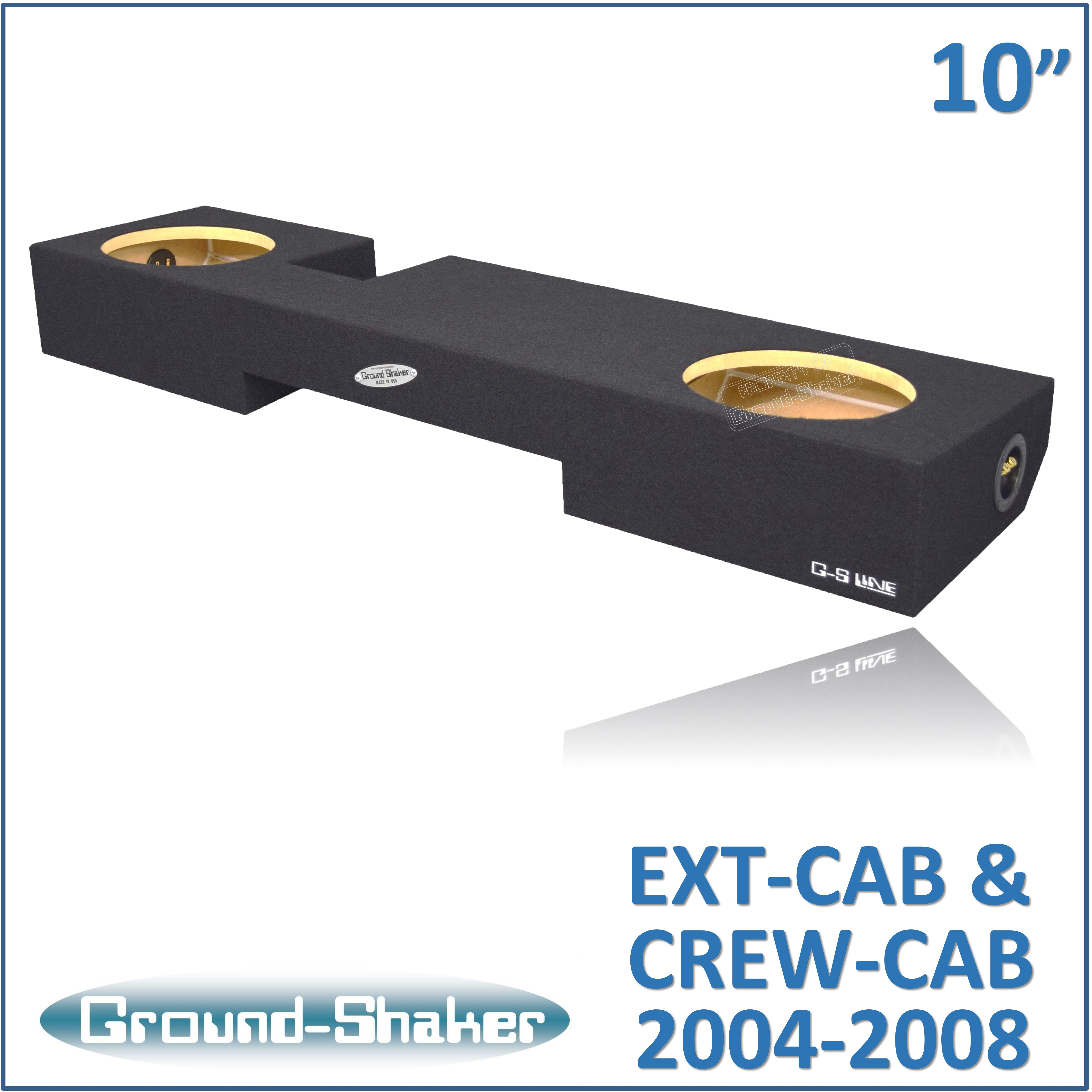 Ford F150 Super Cab// Extended Cab Single 12/'/' Subwoofer Enclosure Box 2004-2008